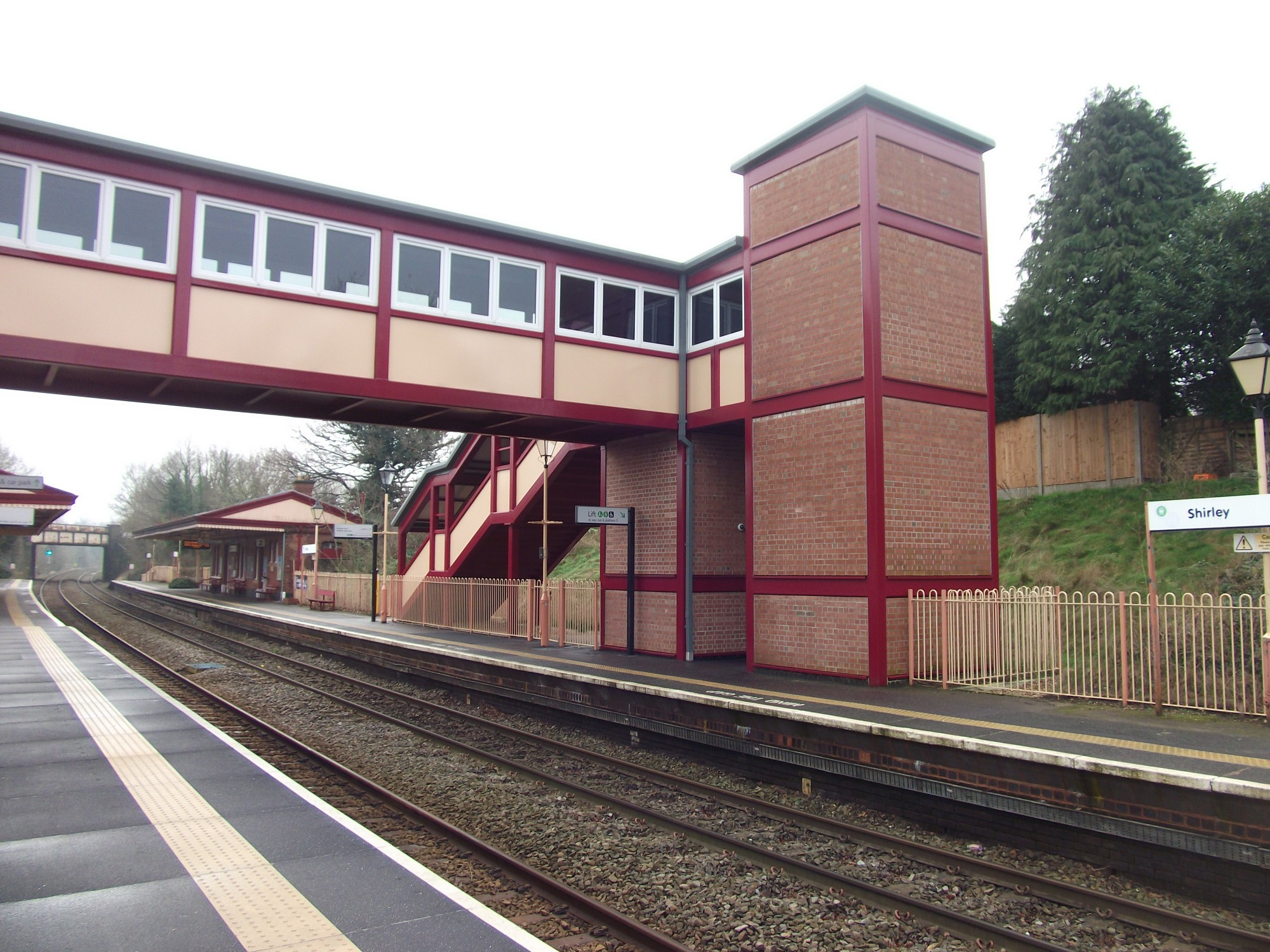 Platform Improvements with FastClad Maintaining Railway Heritage