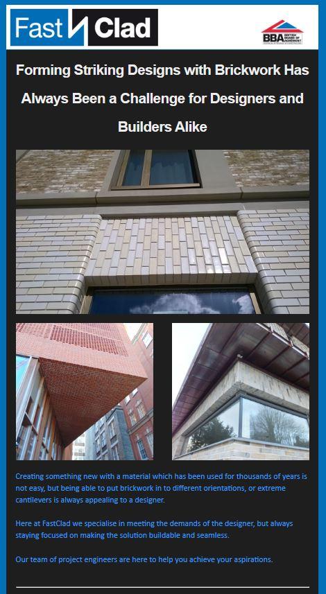 Todays E-Shot Addresses Brick Detailing