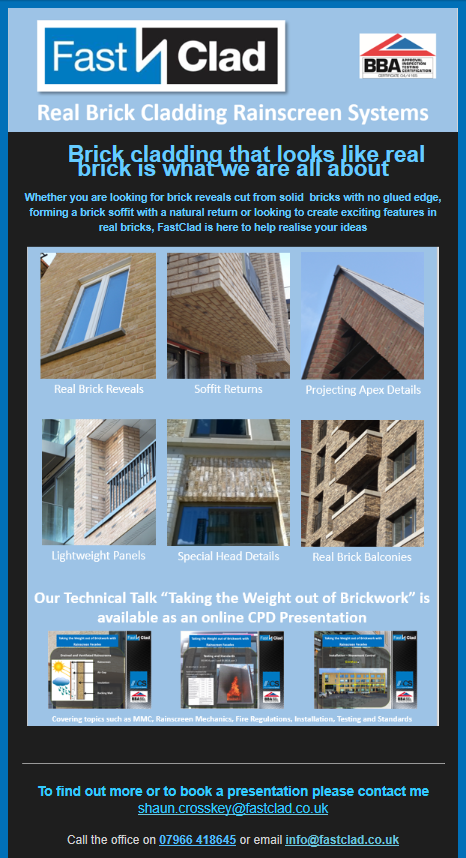 Eshot 14th April 20 Detailing with FastClad