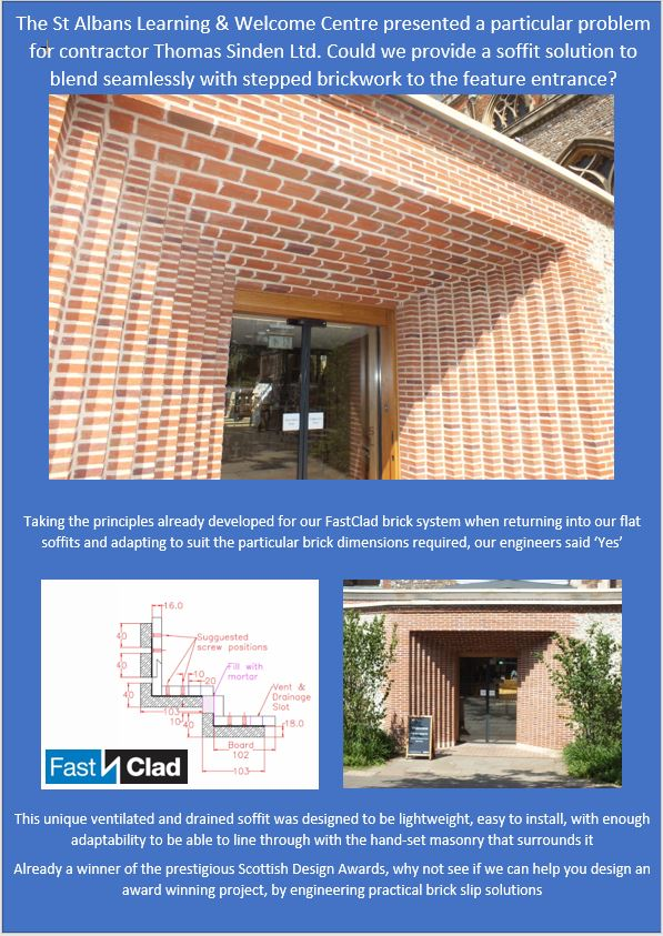 St Albans Learning & Welcome Centre Makes an Entrance